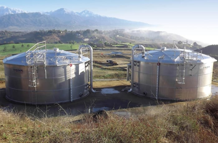 Domestic, industrial and commercial steel tanks
