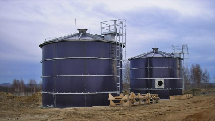 Steel water tanks and reservoirs