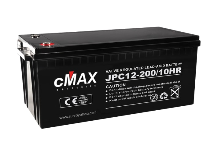 New stock - cMax 12V Lead Carbon Batteries and eMAX Inverters