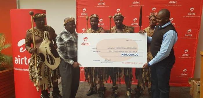 Airtel donates 50K towards Ncwala Ceremony