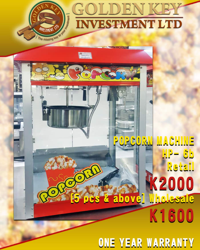 Popcorn machines for sale