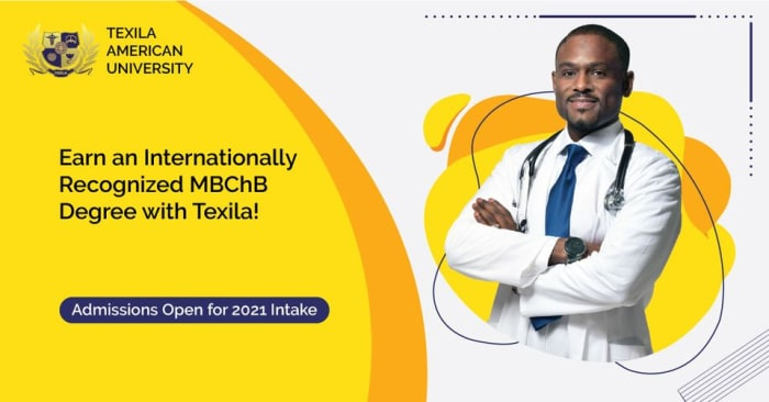 Earn an internationally recognized MBChB Degree with Texila