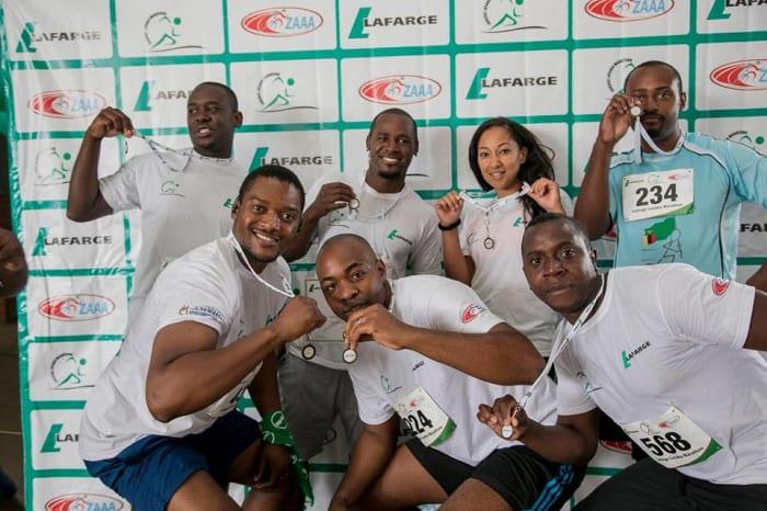 Lafarge Lusaka Marathon 2018