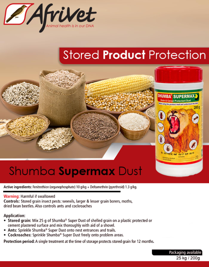 Cereal protectant dust available in stock