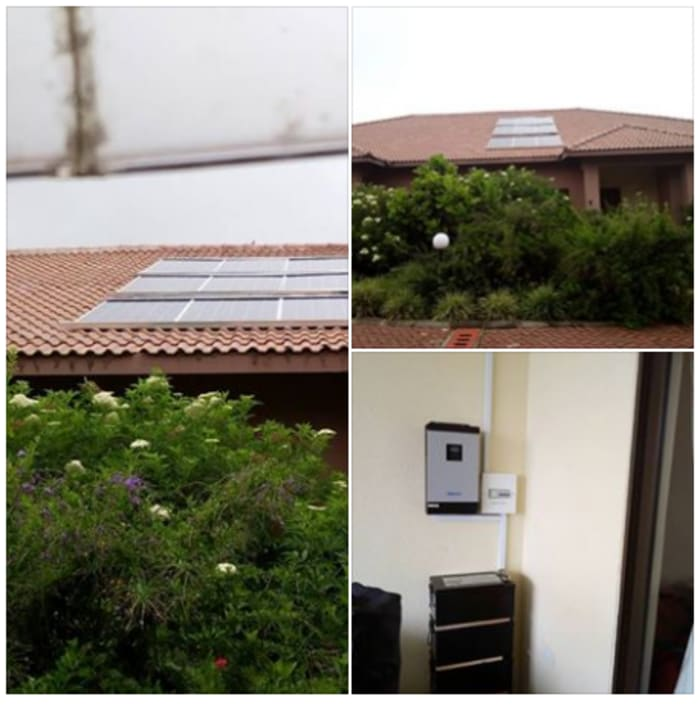 New solar panel systems installed