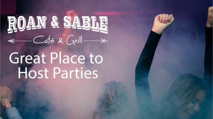 Host your birthday party at Roan & Sable