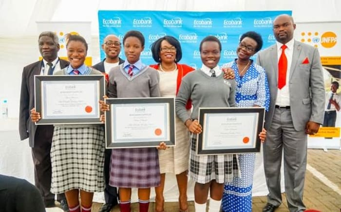 Scholarships awarded in Lusaka to celebrate 2017 Ecobank Day