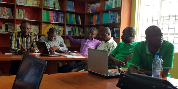 Staff attends data management and performance tracking workshop