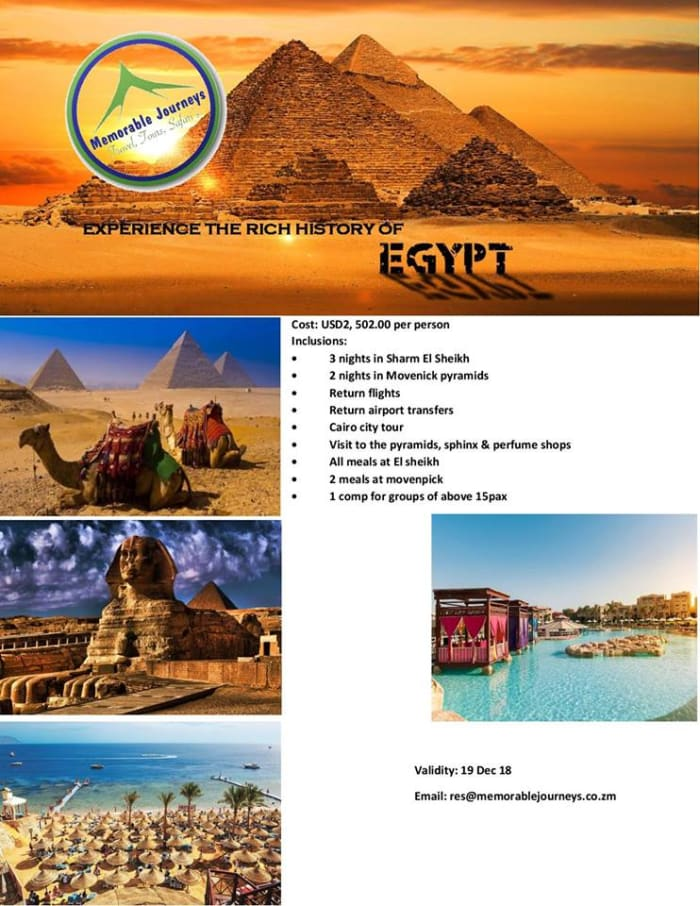Pyramids of Giza - Holiday Package