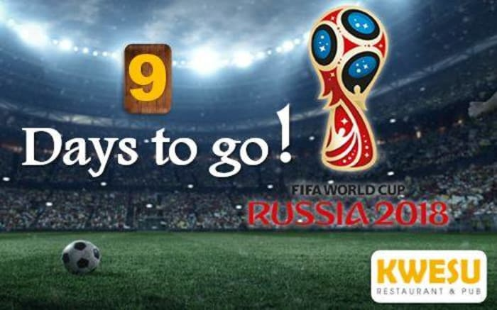 Watch the World Cup live at Kwesu Restaurant