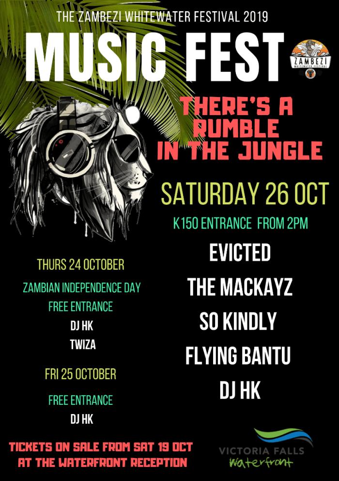 It's here! The Zambezi Whitewater Festival 2019