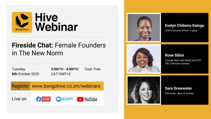 Bongo Hive Fireside Chat: Female founders in the new norm