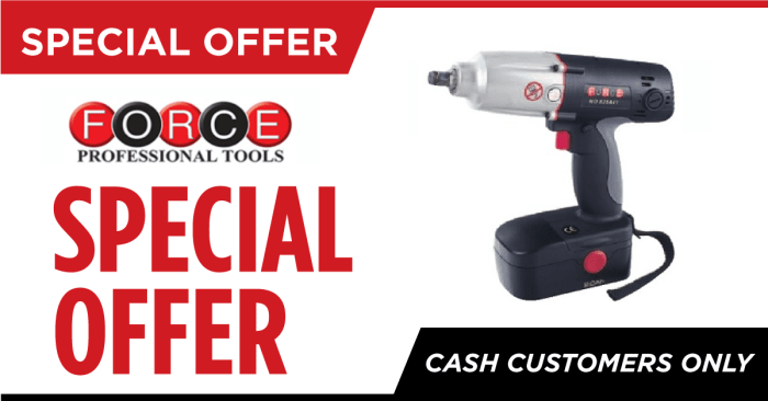 Special offer on Force Professional Tools