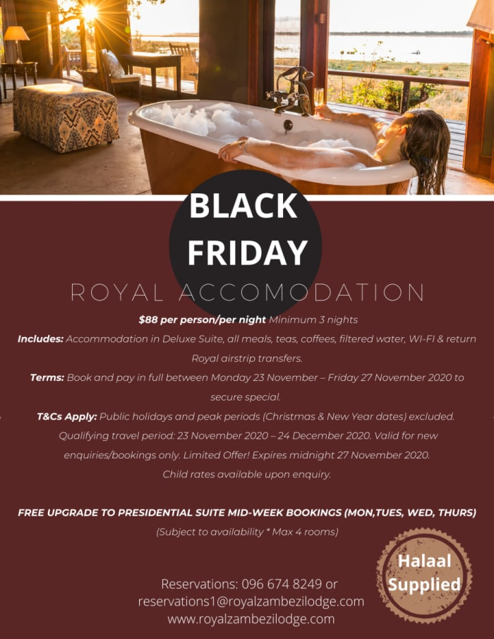 Royal accomodation special offer