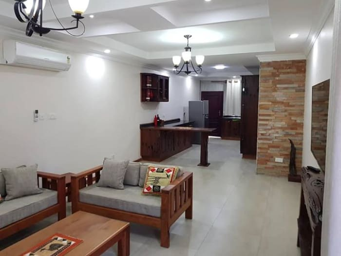 Fully furnished serviced apartment available for short and long term stays