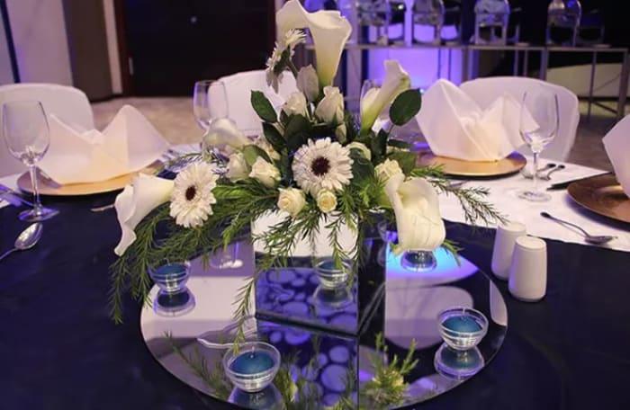 Professional floral arrangements