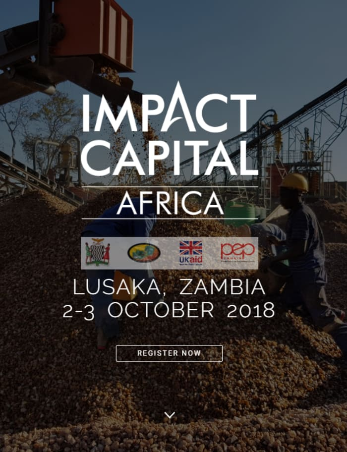 Impact Capital Africa: Zambia - Conference
