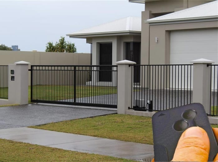Professional electric security gate installations