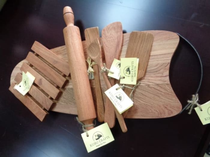 Handmade kitchen items Christmas hamper at Kubu