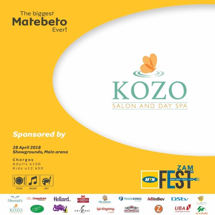 Kozo Spa sponsors MTN's Zamfest