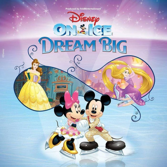 Disney on Ice 2018, book now with Voyagers