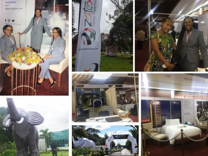 Cutting Edge PR team visits the Zambia Tourism Expo