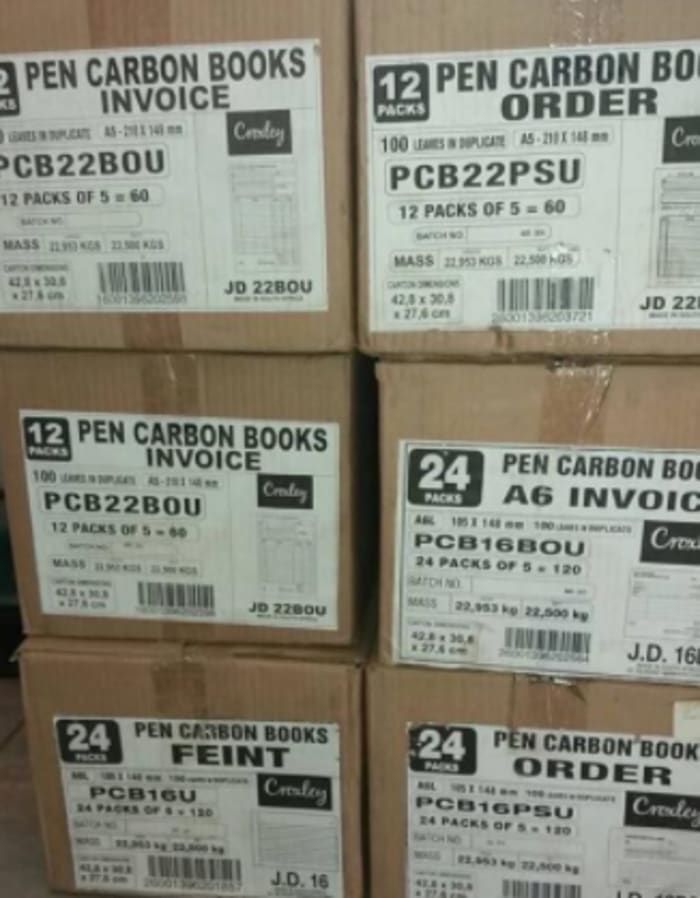 Pen Carbon duplicate books for sale