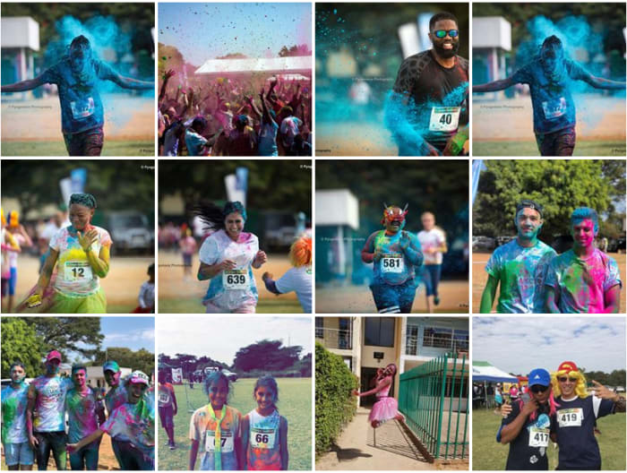 Photos from ISL Colour Run