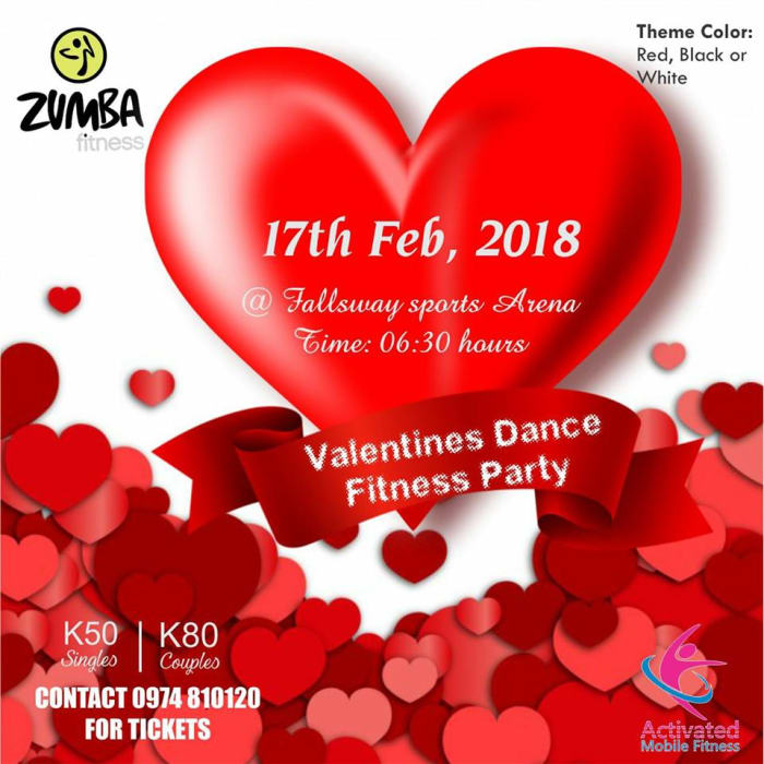 Valentine's Zumba Dance Fitness Party
