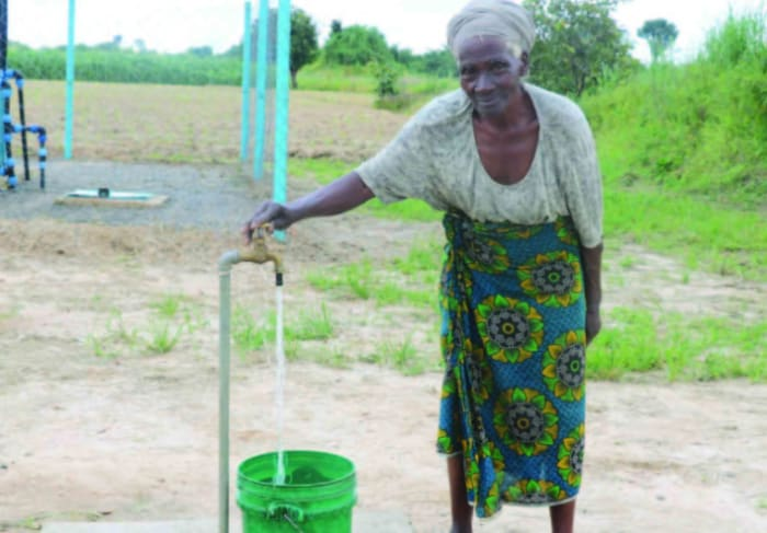 16,000 residents now with access to clean water