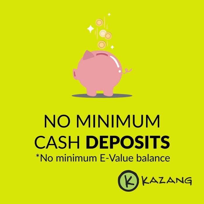 No minimum cash deposits for businesses