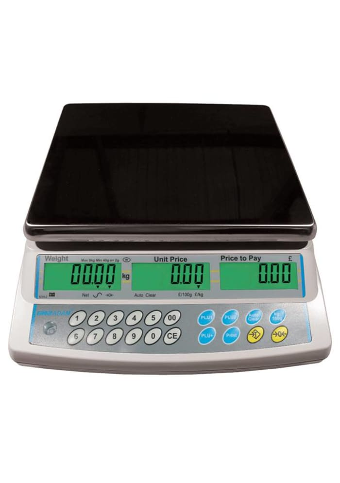 Price computing retail scales available in stock