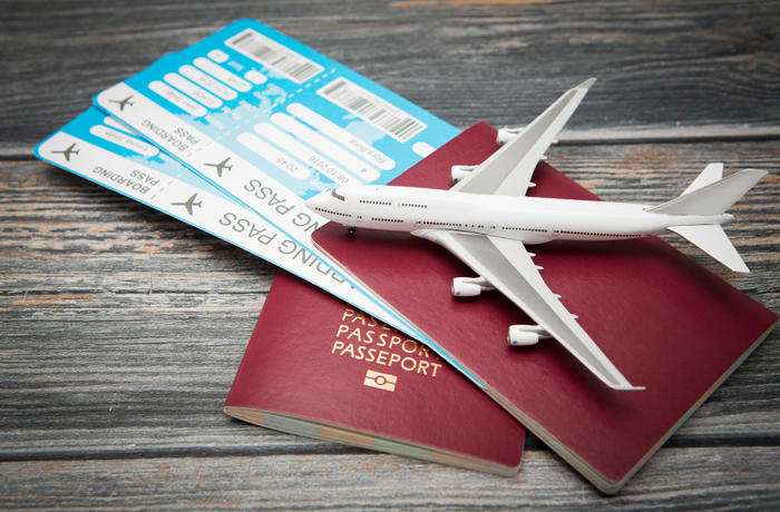 Booking of international and domestic flights