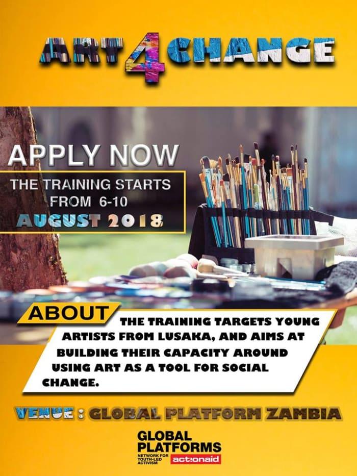 Art for Change - Training