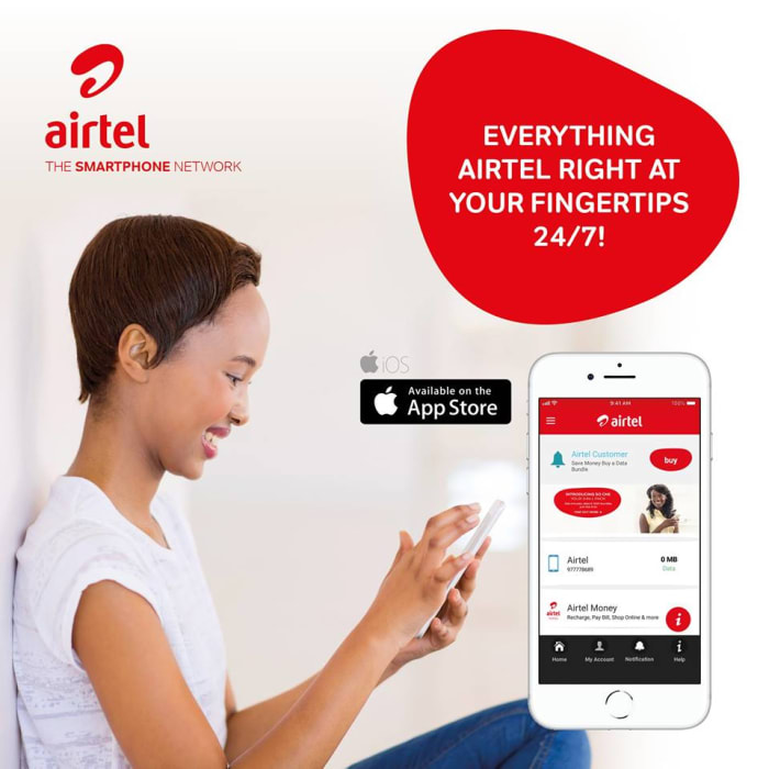 Airtel Care App: products and services in one place