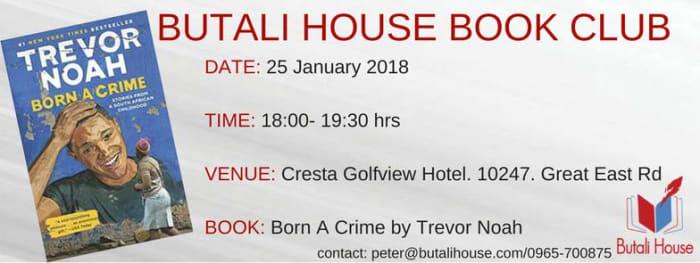'Born a Crime' book discussion