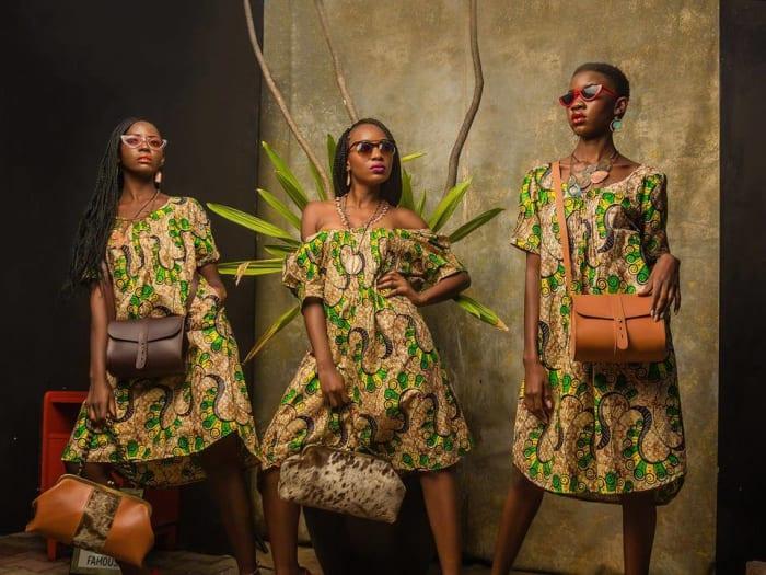 New dresses and handbags available at Kamanga
