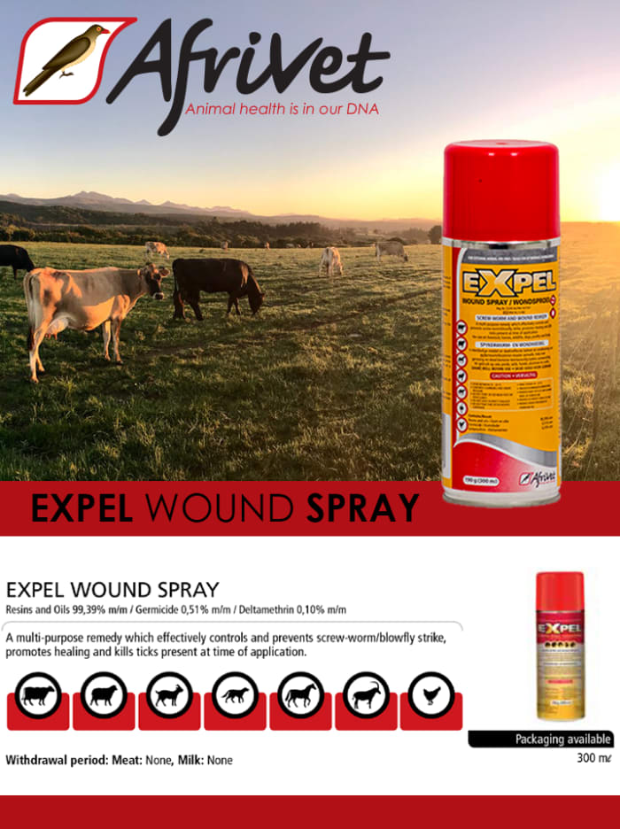 Expel Animal Wound Spray available in stock