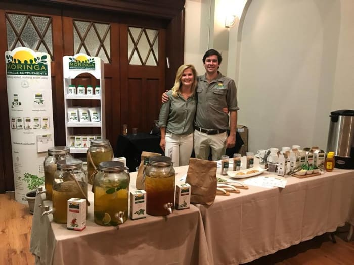 Moringa product launch with South African stockist