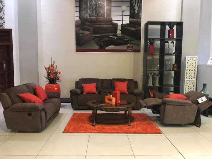 Lazboy sofa set available in stock