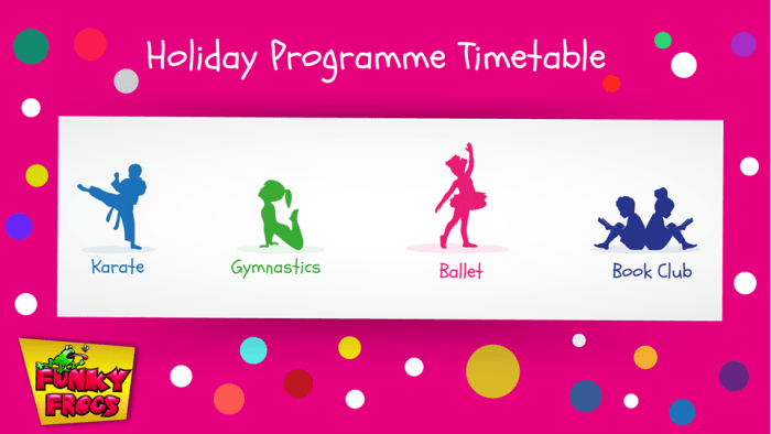 Enrolments open for kid's holiday programmes