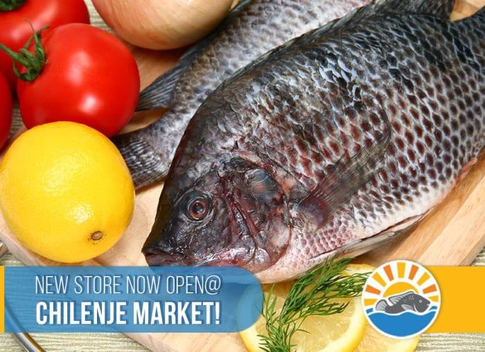 Yalelo fish now available at Chilenje Market