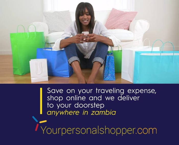 Shop online with YPS and get deliveries in Zambia