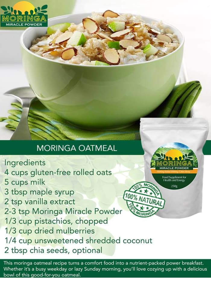 Moringa oatmeal friday recipes