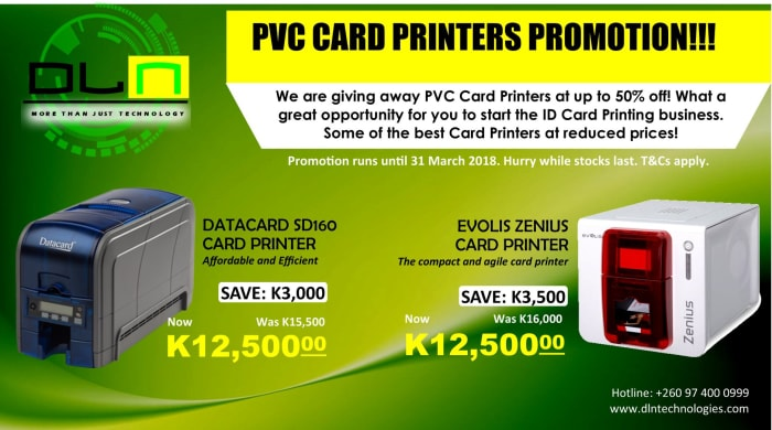 Discounts on PVC Card Printers