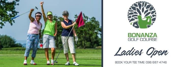 Ladies Open golf
