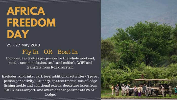 Africa Freedom Day Accommodation Package