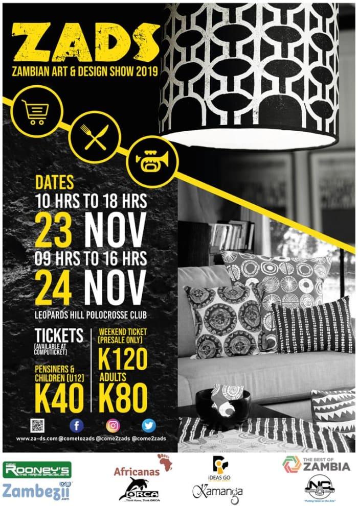 Zambian Art & Design Show (ZADS) 2019