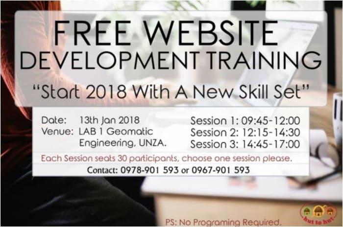 Web Development Training Seminar