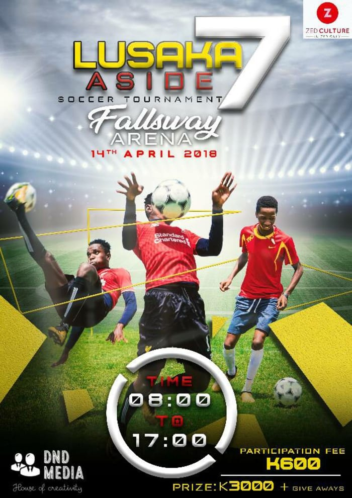 Lusaka football tournament for under 20s